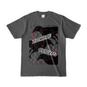 Tシャツ | チャコール | ゾンビカラスちゃん