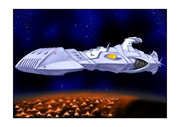 ガミラス ドメル艦改修前バラン星