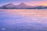 夕暮れの雪原⛄️