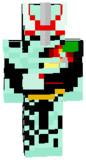 マイクラスキン 仮面ライダーセイバー プリミティブドラゴン