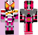 マイクラスキン RIDER TIME 仮面ライダージオウ VS ディケイド 7人のジオウ!