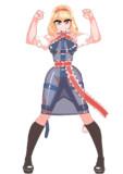 ボンテージファッションが当たり前の幻想郷のアリス