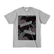 Tシャツ | 杢グレー | ゾンビカラスちゃん