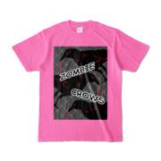 Tシャツ | ピンク | ゾンビカラスちゃん