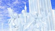 【MMD雪まつり2021】神と女神像