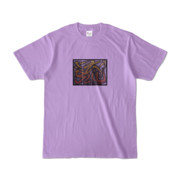 Tシャツ | ライトパープル | 流・風月