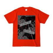 Tシャツ | レッド | ゾンビカラスちゃん