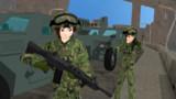 シンカリmmd 自衛隊装備アキタ