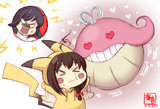 わんどろポ●モンバトルやましぐ+龍鳳?