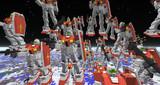 【Minecraft】艦長 連邦軍のMSです 首と足があります!【JointBlock】