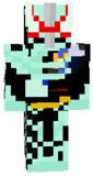 マイクラスキン 仮面ライダーセイバー プリミティブドラゴン ライオン戦記