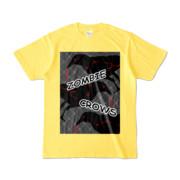 Tシャツ | イエロー | ゾンビカラスちゃん