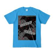 Tシャツ | ターコイズ | ゾンビカラスちゃん