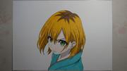 【SHIROBAKO】宮森あおい描いてみた。