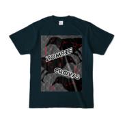 Tシャツ | ネイビー | ゾンビカラスちゃん
