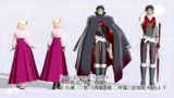 【Fate/MMD】沖田さん1臨、土方さん1臨2臨追加配布します