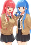 制服な琴葉姉妹