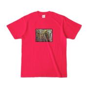 Tシャツ | ホットピンク | 流・風月