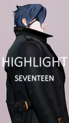 #Shorts【MMD刀剣乱舞】SEVENTEEN - HIGHLIGHT / 燭台切光忠