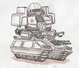 鹵獲されたザクタンク