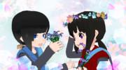 MMD想い出の花 MikuMikuDance
