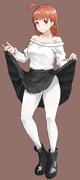白タイツチカちゃん