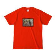 Tシャツ | レッド | 流・風月