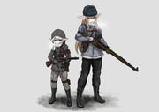 武装エルフ