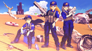 【スターラスターガール】ひびたか みきみき の地上戦訓練