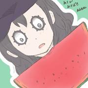 岡さん、初めて胃からスイカは生えないことを知る。