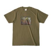 Tシャツ | オリーブ | 流・風月