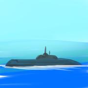 戦略ミサイル原子力潜水艦「タイフーン」