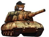 E100 12.8cm砲仕様