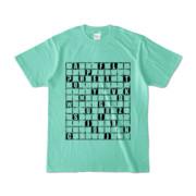 Tシャツ | アイスグリーン | ALPHABET_GRAVEL