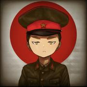 日本陸軍 怒鬼和也(ドキ カズノリ)少尉。