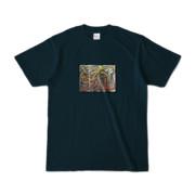 Tシャツ | ネイビー | 流・風月