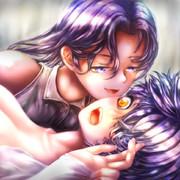 「おはよ♡起きないとキスしちゃうわよー」