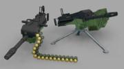 【MMDモデル配布】Mk.21自動擲弾銃「スラッガー」