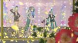 【MMD花フェスタ2021】3人の男装ミクさん。