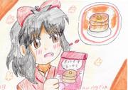 夢の焼きたてホットケーキ!