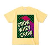 Tシャツ | ライトイエロー | CROW_WHEY_CROW