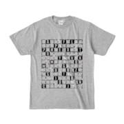 Tシャツ | 杢グレー | ALPHABET_GRAVEL