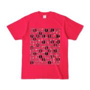 Tシャツ | ホットピンク | ALPHABET_GRAVEL
