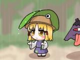 雨と諏訪子様