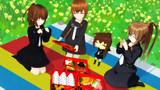 【睦月型静画祭2021】文月達とピクニック!