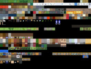 【Elona】追加:★《支援絵》が飾られた壁+金の壁【マップチップ】