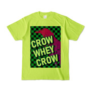 Tシャツ | ライトグリーン | CROW_WHEY_CROW