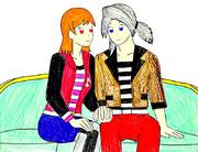レフィアとルーネス