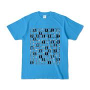 Tシャツ | ターコイズ | ALPHABET_GRAVEL