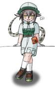探検隊制服ハブちゃん